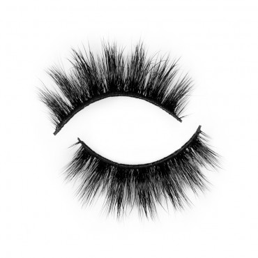 Fashionable 3D Real Mink Eyelash Strip Lashes P146