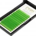 0.07mm J B C D Curl Green Eyelash Extensions