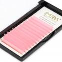 0.07mm J B C D Curl Pink Eyelash Extensions