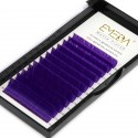 0.07mm J B C D Curl Purple Eyelash Extensions