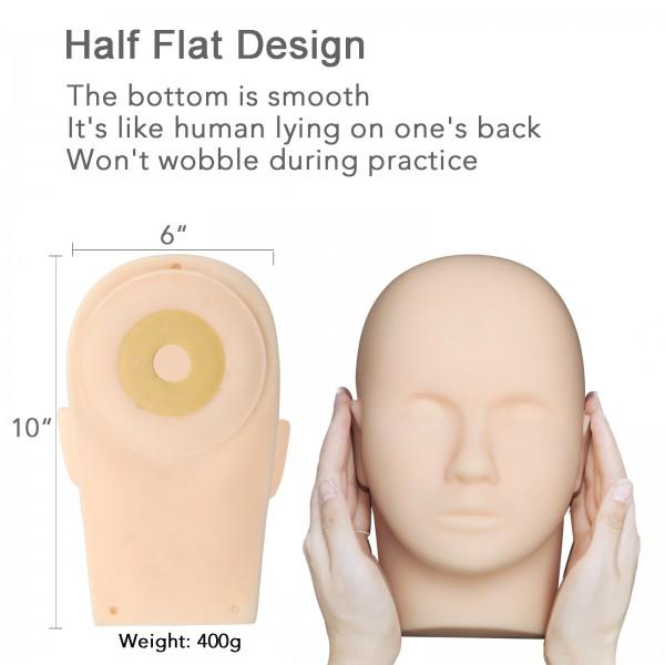 Realistic Mannequin Head Eyelash Training Mannequin Head