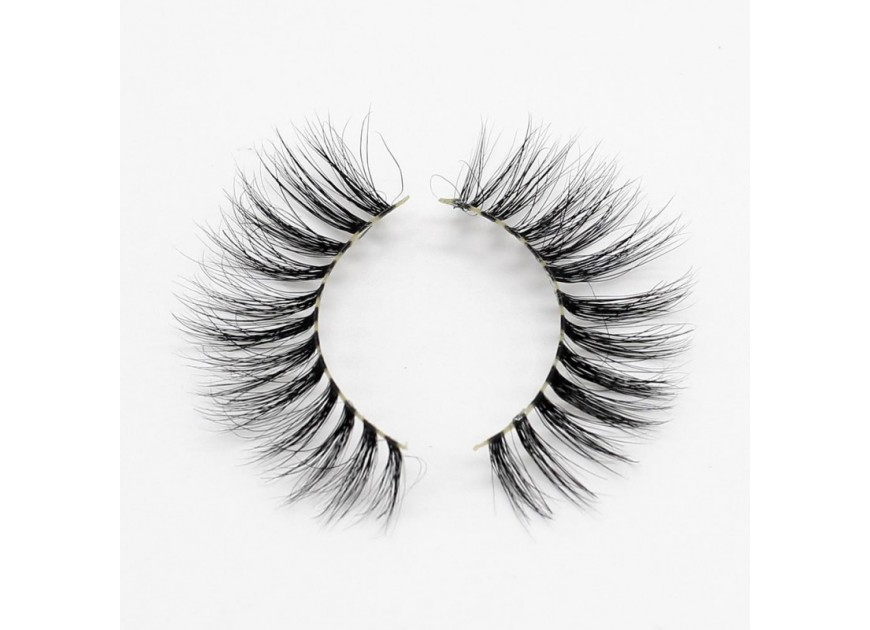 How do girls put fake eyelashes naturally? Detailed tutorial to create a long and curled