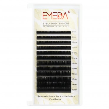 0.05mm J B C D Curl Silk Volume Eyelash Extensions