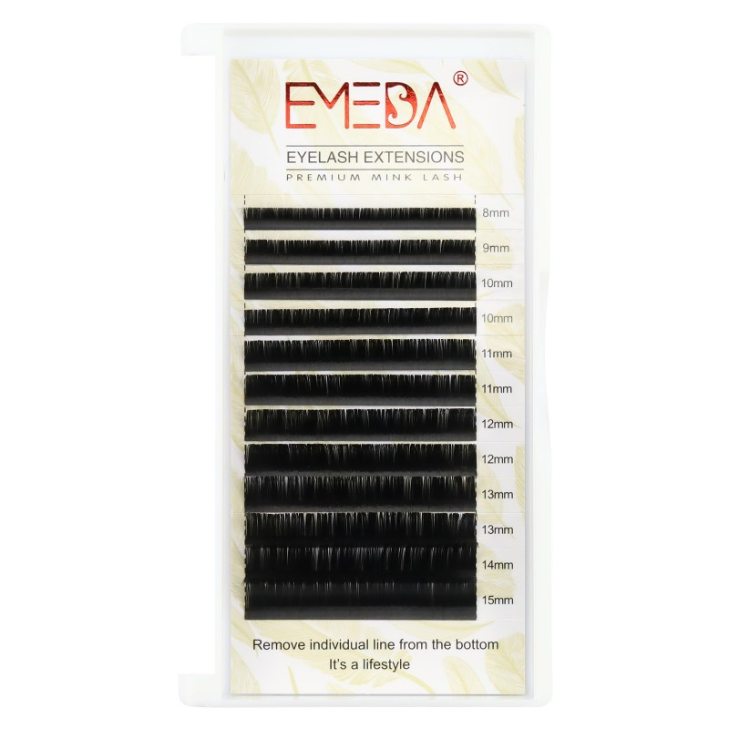 0.05mm J B C D Curl Silk Volume Eyelash Extensions
