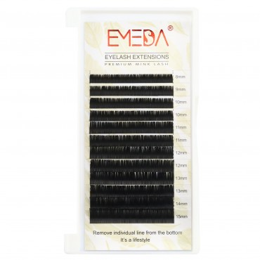 0.2mm  J B C D Curl Silk Volume Eyelash Extensions