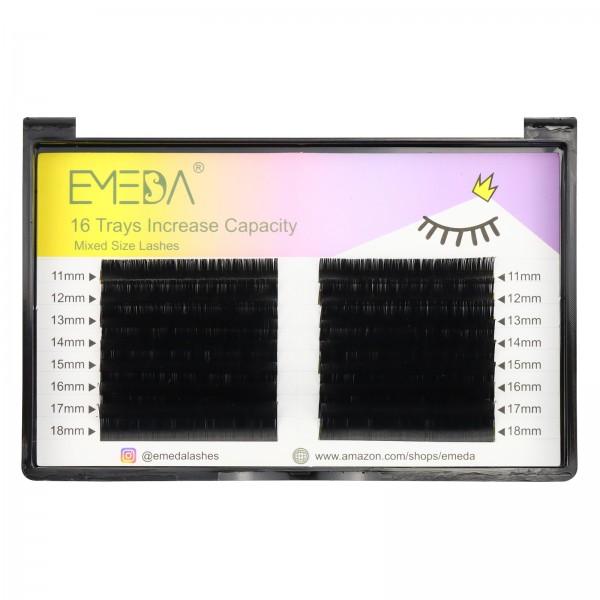 0.15mm J B C D Double Row Eyelash Extension