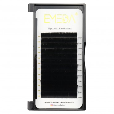 C D Curl 100% Real Mink Individual Eyelash Extensions