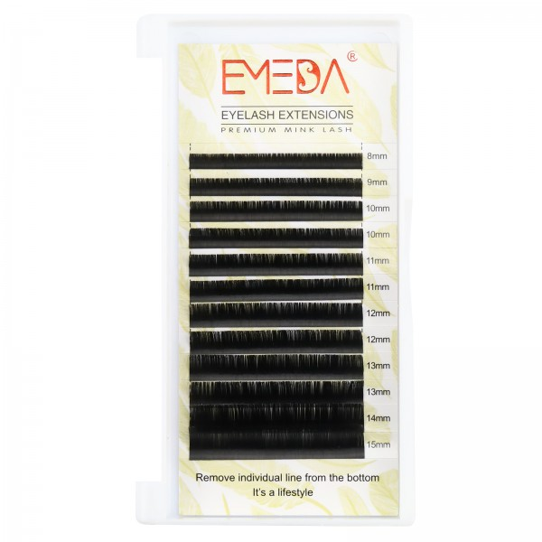 0.1mm J B C D Curl Silk Volume Eyelash Extensions
