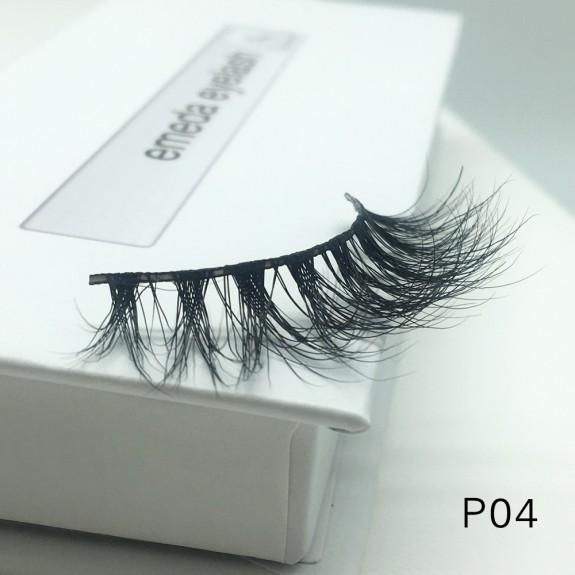 3D Mink platinum grade P04 100% Handmade Strip Lashes