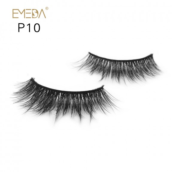 3D Mink platinum grade P10 100% Handmade Strip Lashes