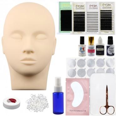 False Eyelash Extension Grafting Tool Kit for Makeup Practice Eye Lashes Graft