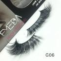 100% Real Mink Fur 3D Strip Lashes G06