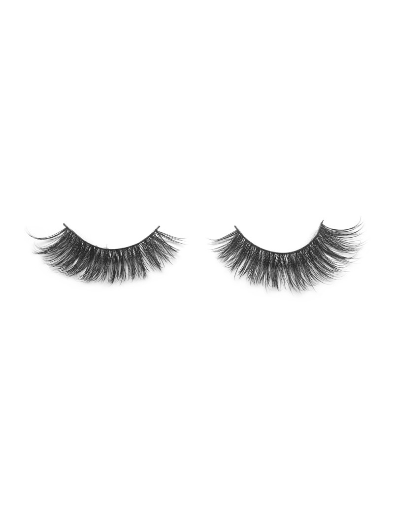 100% Real Mink Fur 3D Strip Lashes G06