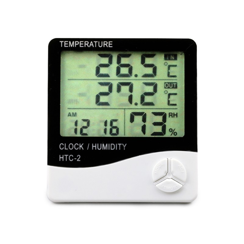 Room Thermometer and Humidity Gauge with Temperature Humidity Monitor