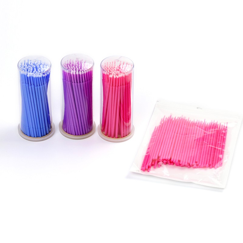 Disposable Micro Applicators Brushes for Eyelashes Extensions