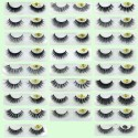 Best Selling Handmade Real Mink  3D Strip Lashes YY-3D45
