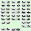 Real Mink Fur 3D Mink Fake Eyelashes YY-3D07
