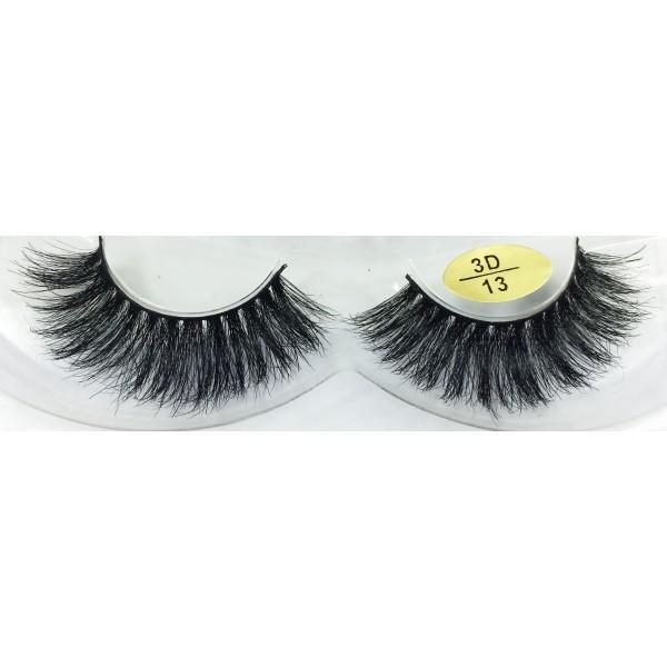 Factory Price 3D mink Fur False Eyelashes YY-3D13