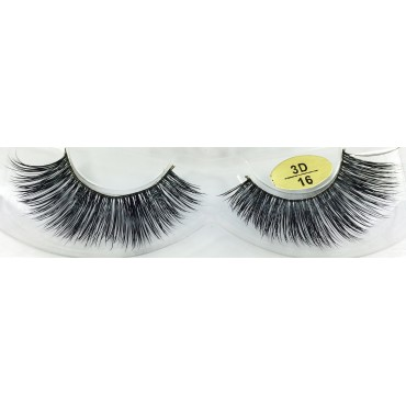Factory Price 3D Mink Strip Eyelashes YY-3D16