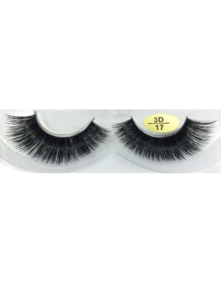 100% Real Mink Fur Fake Eyelashes YY-3D17