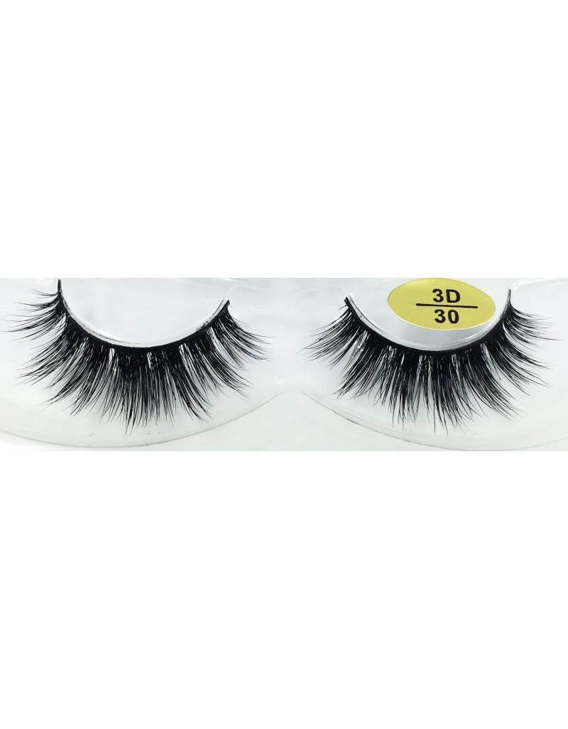 Real Mink Fur 3D False Eyelashes YY-3D30