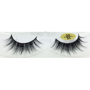 Whoelsale 100% Real Mink  fur 3D Lashes YY-3D31