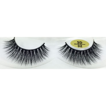 Whoelsale 3D Mink Fur Eyelashes YY-3D32