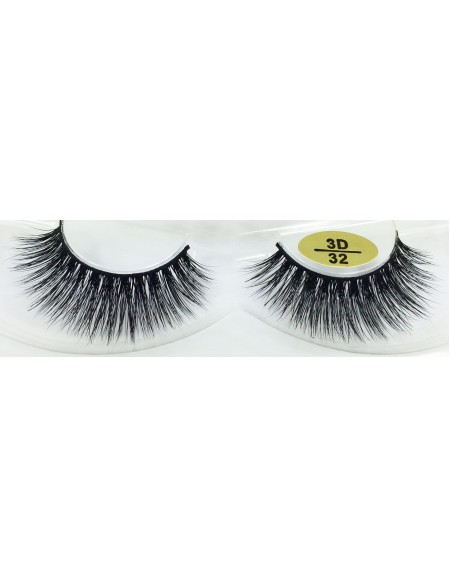 Fast Seller 3D Mink Fur Eyelashes YY-3D32
