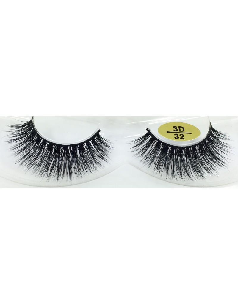 Fast Seller 3D Mink Fur Eyelashes YY-3D32