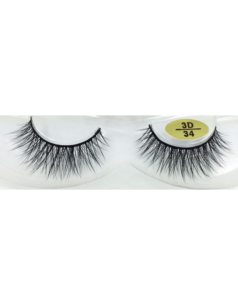Fast Seller Real Mink 3D Lashes YY-3D34