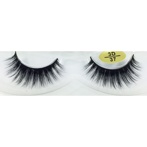 Wholesale Real Mink  fur 3D Fake Lashes YY-3D37