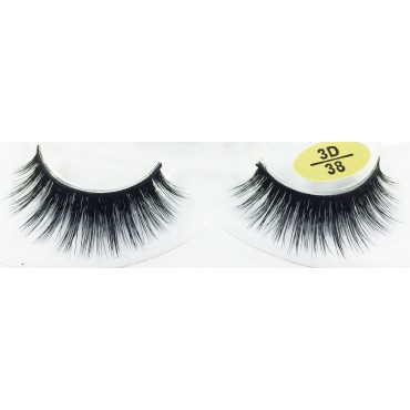 Wholesale Mink  fur 3D Fake Lashes YY-3D38