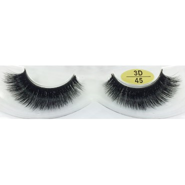 Wholesale Handmade Real Mink  3D Strip Lashes YY-3D45