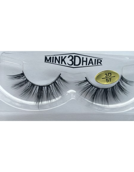 Best Selling Handmade 3D Mink  Fur Eyelashes YY-3D57