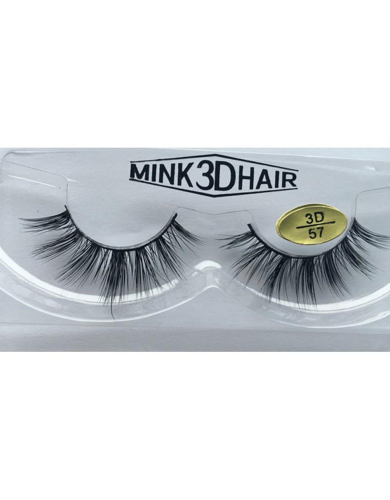 Best Selling Handmade 3D Mink  Fur Eyelashes YY-3D57