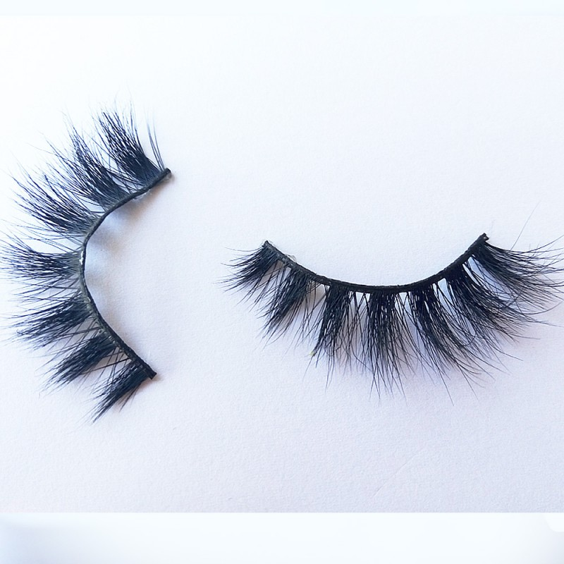 Luxurious 3D 100% Real Mink Eyelashes By Lashes Manufacturer D111