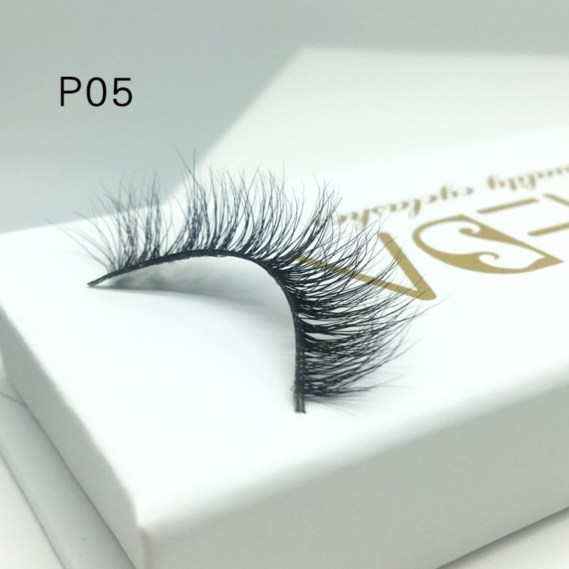 3D Mink platinum grade P05 100% Handmade Strip Lashes