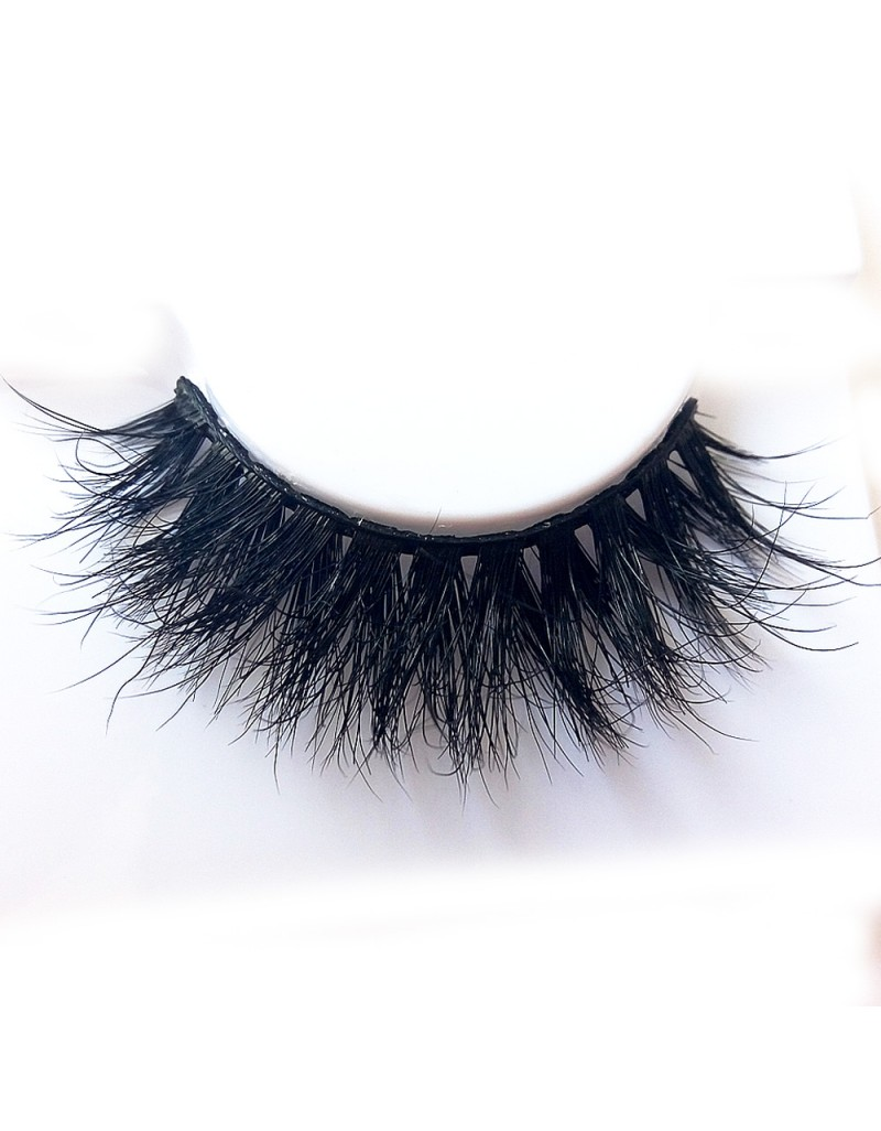 Luxurious 3D 100% Real Mink Eyelashes by Lashes Manufacturer D112