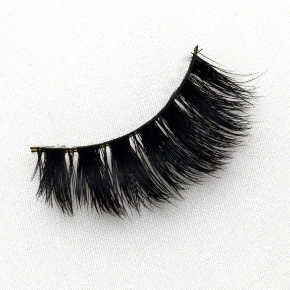 3D Real Mink Lashes Strip Lashes  G022