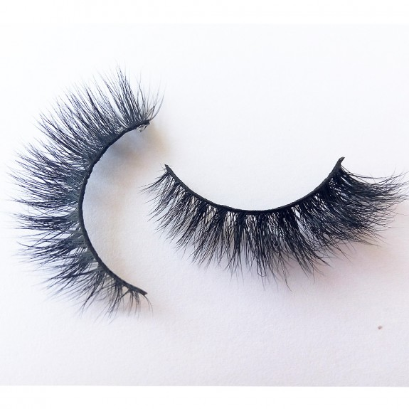 Luxurious 3D 100% Real Mink Eyelashes by Lashes Manufacturer D118