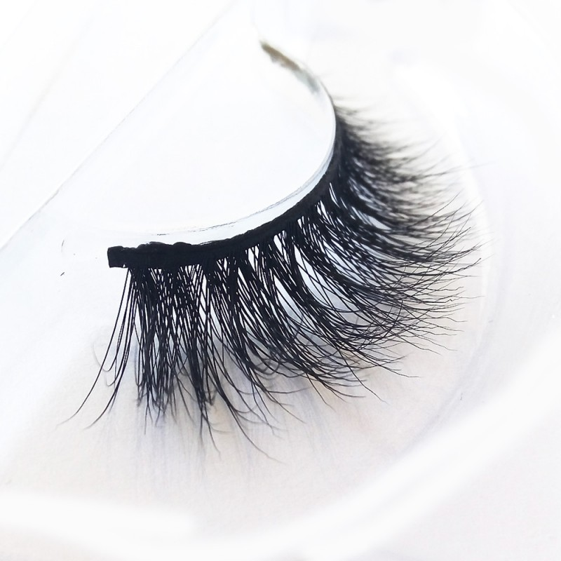 Luxurious 3D 100% Real Mink Eyelashes by Lashes Manufacturer D126