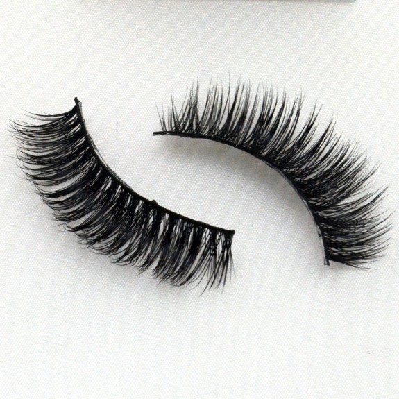 100% Real Mink Lashes 3D Strip Lashes G027