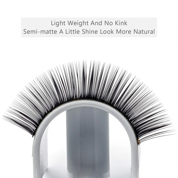 16 Rows C/D/DD 0.15mm Mix 8-15mm Individual Eyelash Extension