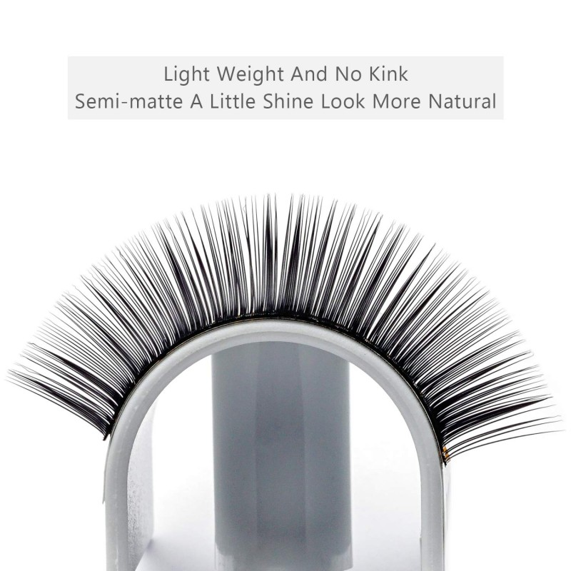 16 Rows C 0.15mm 11mm,12mm,13mm,14mm,15mm,16mm,17mm,18mm Single Length Individual Eyelash Extension