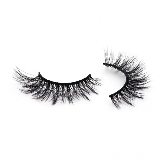 High Quality 3D Silk Strip Lashes False Eyelash Vendor SD169
