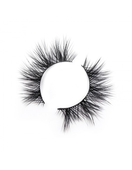 Mesh and Soft 3D Silk Strip Lashes False Eyelash Vendor SD172