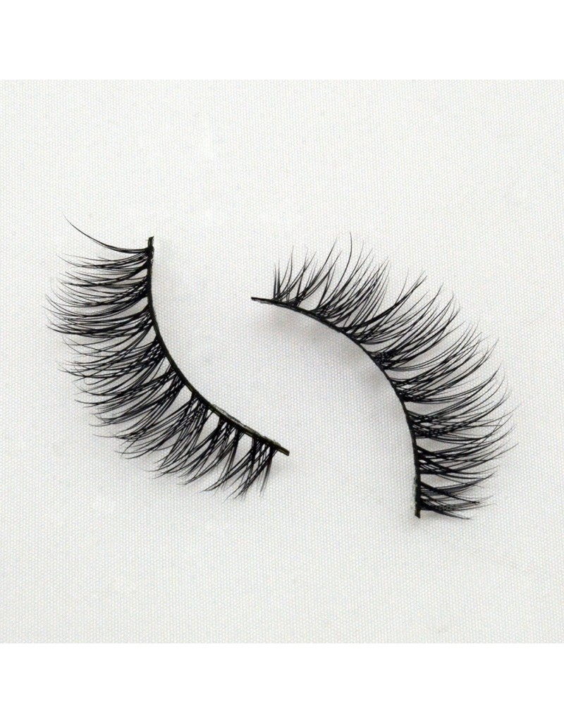 Hot Seller Real Mink 3D Strip Lashes G031