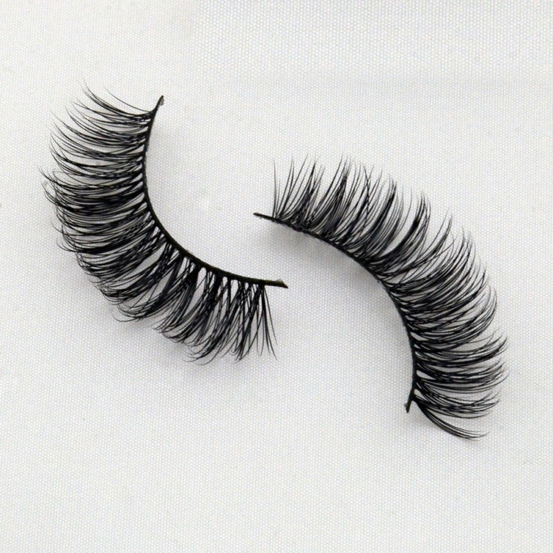 Affordable Price 3D Real Mink  Fur Lashes G036