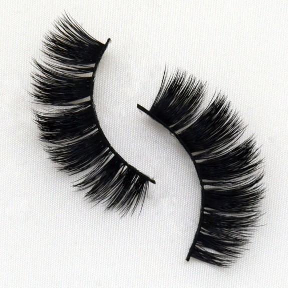 Real Mink Lashes 3D Mink Strip Lashes  G037