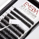 100% Real Mink Lash Extensions C D Curl 8-14mm Mixed Tray and 8-14mm Single Length